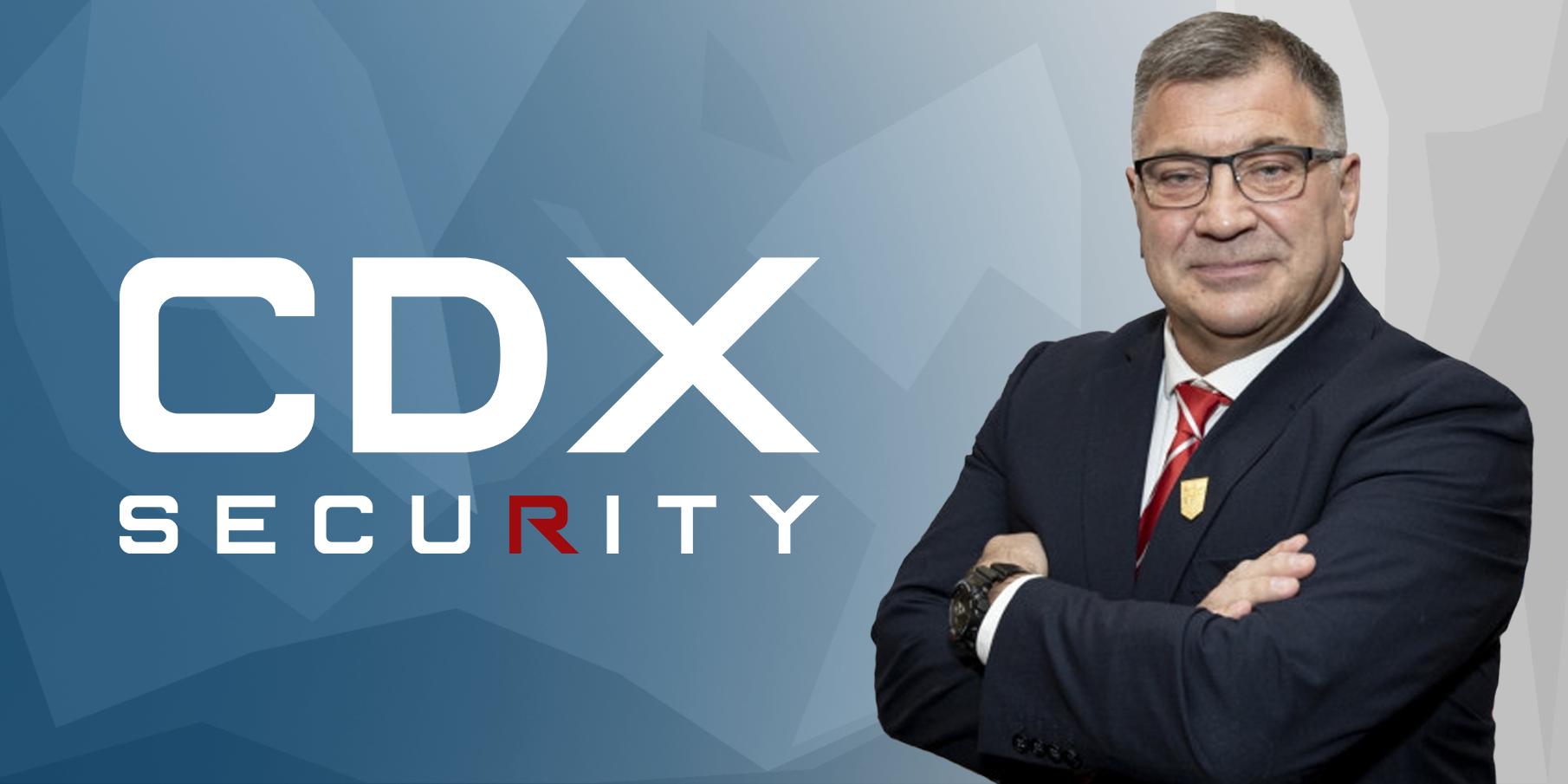 SHAUN WANE JOINS CDX SECURITY