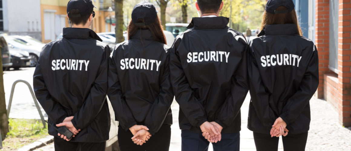 Proper setup to provide security guard services