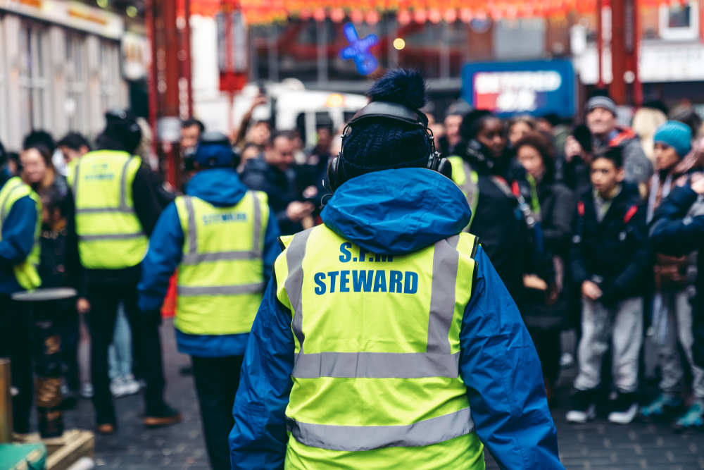 Why Hire Security Stewards For Events